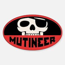 Mutineer Sticker (Oval)