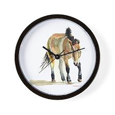 Sheepherding Sissie/Sheltie Wall Clock