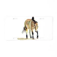 Sheepherding Sissie/Sheltie Aluminum License Plate