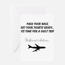 Unique Time guilt trip Greeting Card
