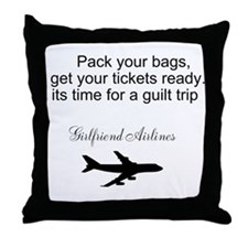 Funny Get ready Throw Pillow