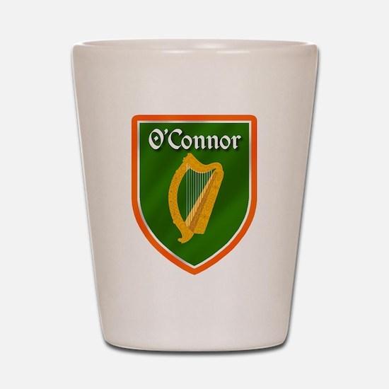 O'Connor Family Crest Shot Glass