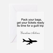 Cool Time guilt trip Greeting Card