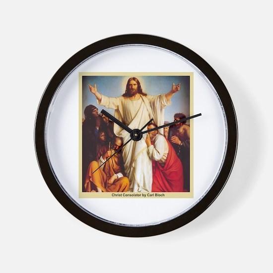 Christ Consolator Wall Clock