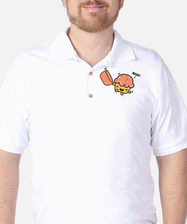 Nude Muffin Golf Shirt