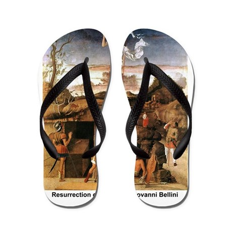 Resurrection of Christ Flip Flops