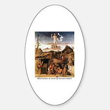 Resurrection of Christ Sticker (Oval)