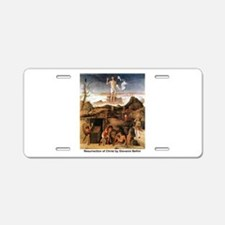 Resurrection of Christ Aluminum License Plate