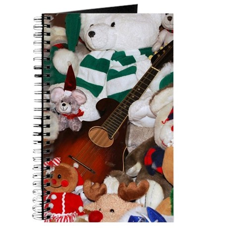 Mandolin and Christmas Bears Journal