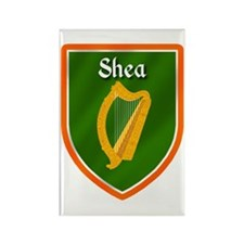 Shea Family Crest Rectangle Magnet (10 pack)