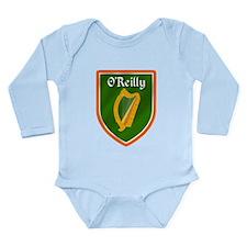 O'Reilly Family Crest Long Sleeve Infant Bodysuit