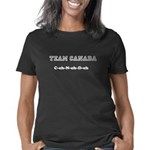 Keep Cairns and Carry On brown dog Women's Tank