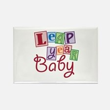 Leap Year Baby Rectangle Magnet
