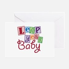 Leap Year Baby Greeting Card