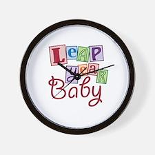 Leap Year Baby Wall Clock