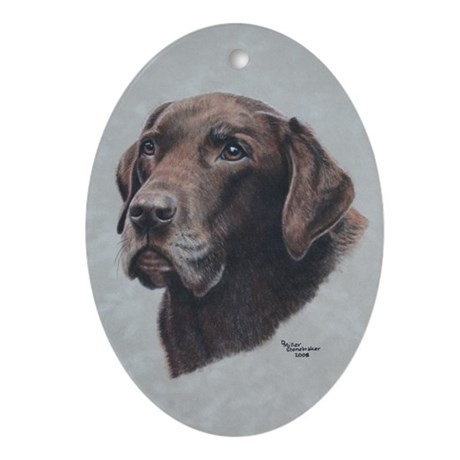 Hershey Ornament (Oval)