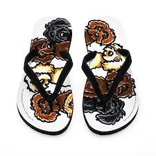 Labradoodle Lover Flip Flops