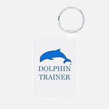 Dolphin Trainer Keychains
