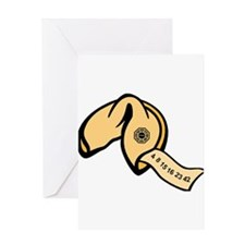 Lost Numbers LostTV Fortune C Greeting Card