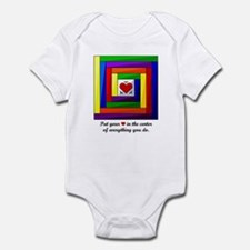 Quilt Square Infant Bodysuit