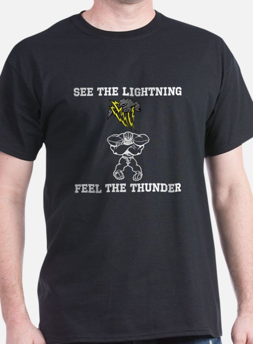 See the Lightning (Black) T-Shirt