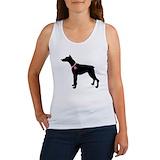 Doberman women\'s t shirt Women's Tank Tops