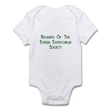Jewish Leprechaun Society Infant Bodysuit