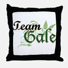 Team Gale Throw Pillow