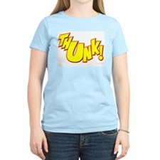 Thunk! Women's Pink T-Shirt