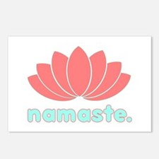Namaste Lotus Postcards (Package of 8)