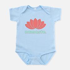 Namaste Lotus Infant Bodysuit