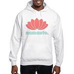 Namaste Lotus Hooded Sweatshirt