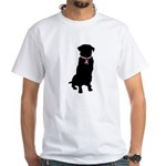 Golden Retriever Breast Cancer Support White T-Shi