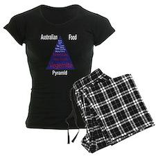 Australian Food Pyramid Pajamas