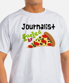 Journalist Funny Pizza T-Shirt