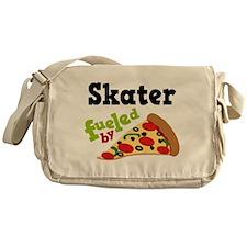 Skater Funny Pizza Messenger Bag