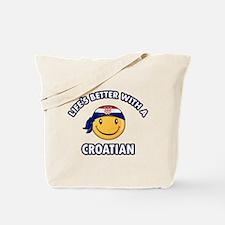 Cute Croatian designs Tote Bag
