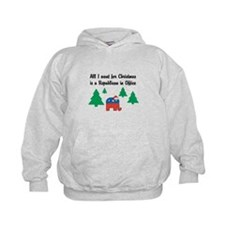 All I Want for X-Mas Hoodie