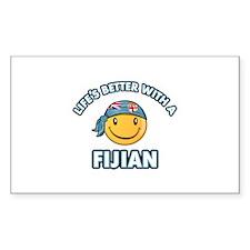 Cute Fijian design Stickers