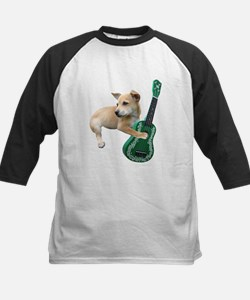 Dog Playing Ukulele Tee