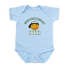 Cute Iraqi design Infant Bodysuit