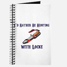 HUNTING BOAR WITH LOCKE Journal