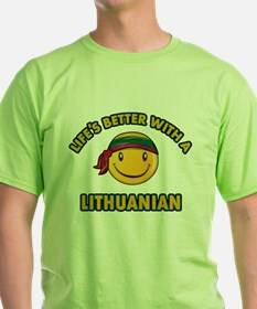 Cute Lithuanian design T-Shirt