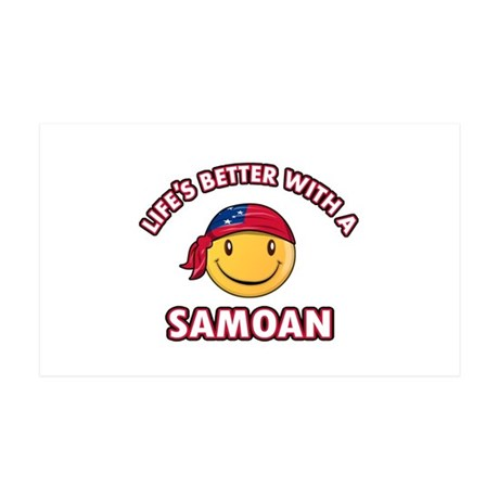 Cute Samoan design 38.5 x 24.5 Wall Peel