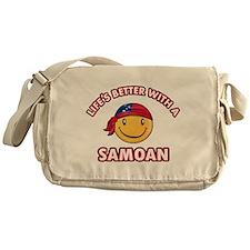 Cute Samoan design Messenger Bag