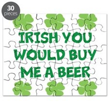 Irish You Would Buy Me A Beer Puzzle