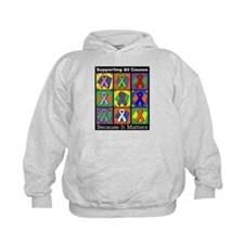 Supporting All Causes Hoody