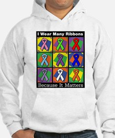 Ribbons Because It Matters Hoodie
