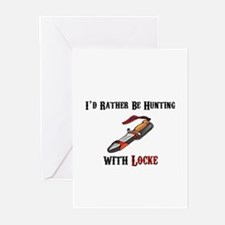 HUNTING WITH LOCKE Greeting Cards (Pk of 10)