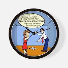 Wrong Lifting Qualification Wall Clock